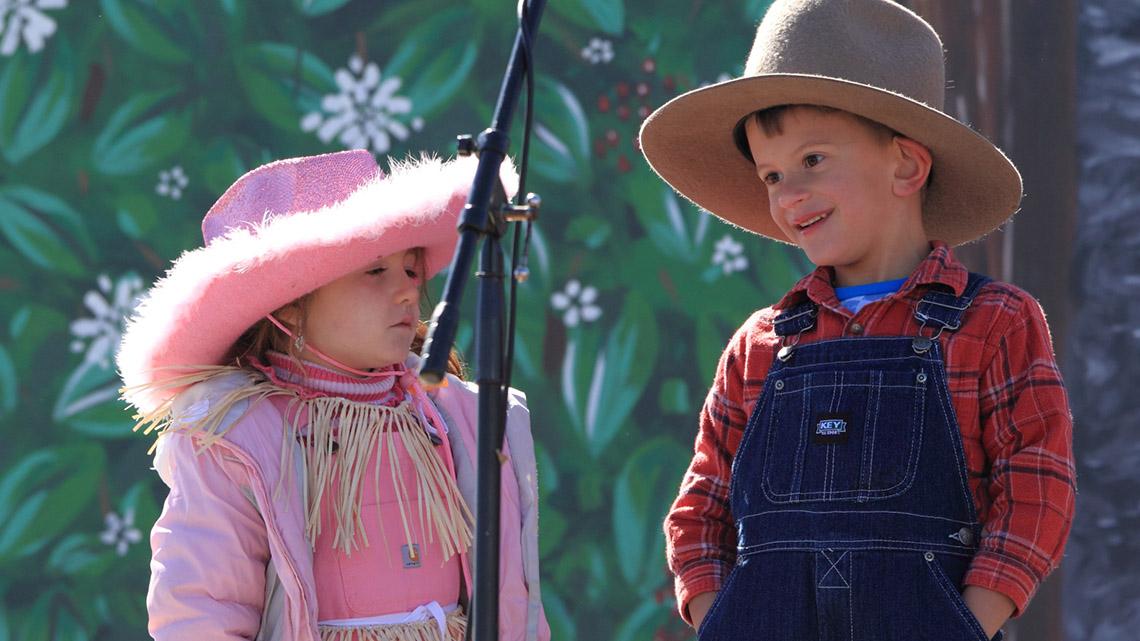 Children performing at Old Miners' Days in Viburnum, Missouri.