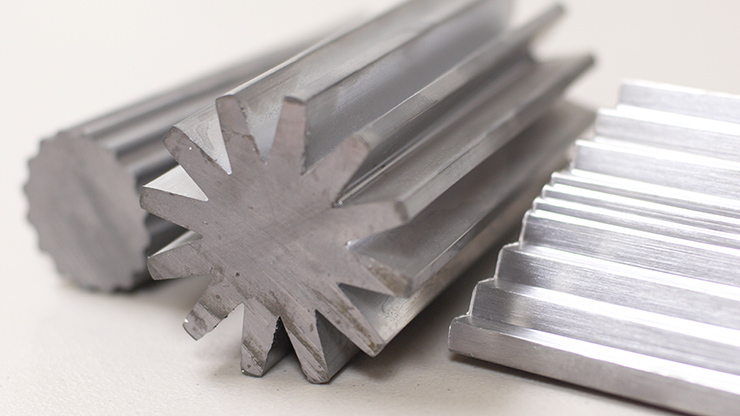 Lead metal extruded shapes